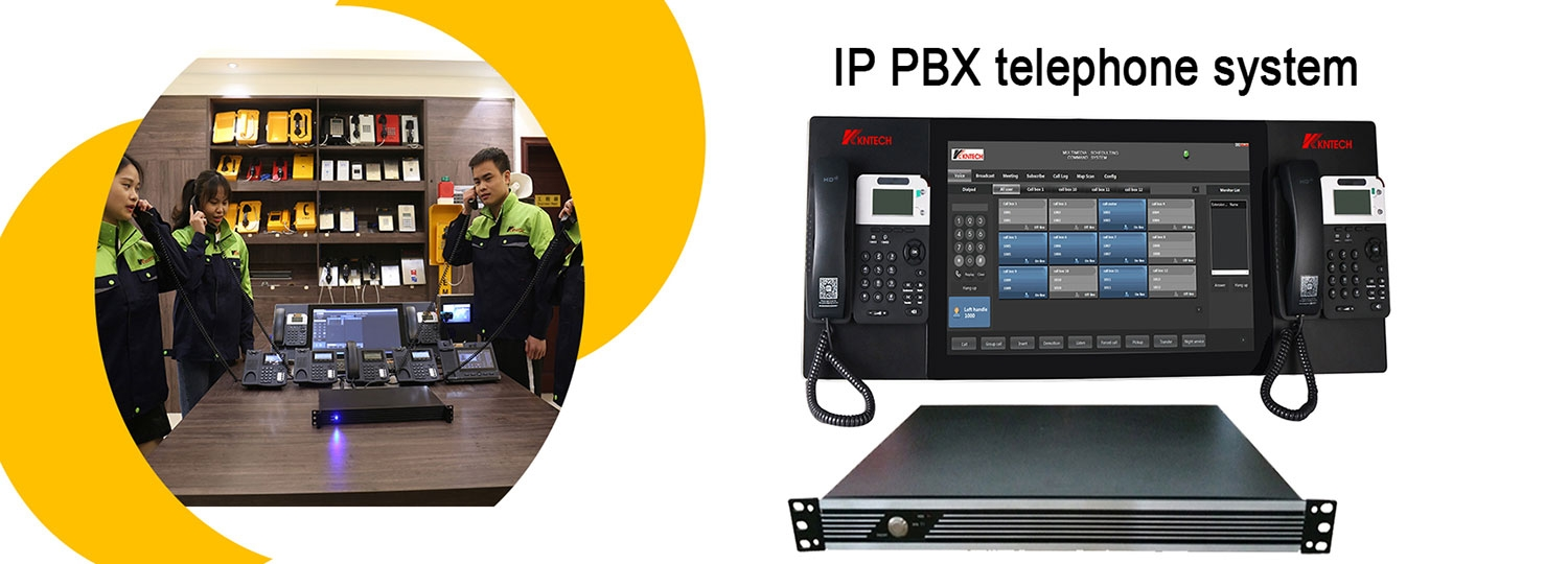 IP PBX telephone